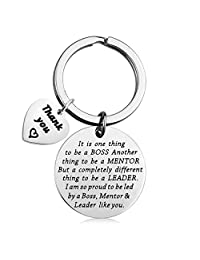 Boss Gift Mentor Appreciation Gift Leader Thank You Gift Supervisor Keychain Boss Retirement Gift Gift from Staff