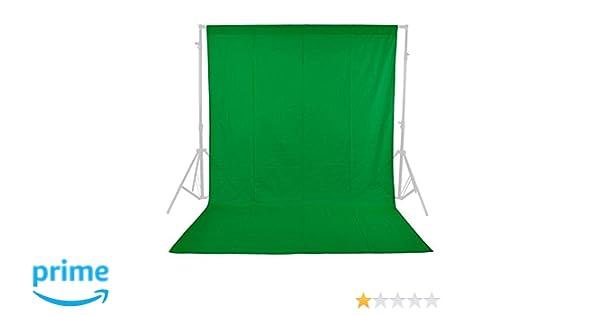 Fondo Croma Phot-R® de Color Verde para Estudio de fotografía y vídeo, Lavable a máquina, Hecho de Material no Tejido (1,6m x 2,1 m): Amazon.es: Electrónica