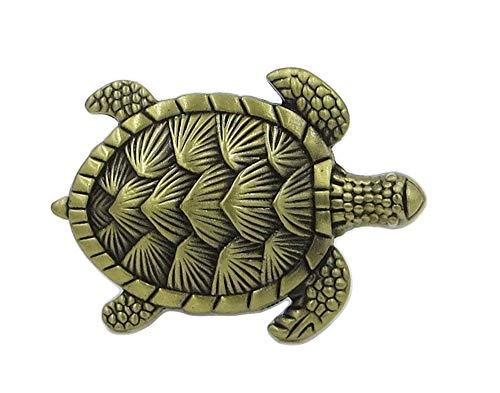 Turtle Drawer Pull - Turtle Metal Dresser Drawer, Cabinet Drawer or Door Knob Pull - Pack of 12