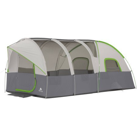 Ozark Trail 16' x 9' Modified Dome Tunnel Tent, Sleeps 10
