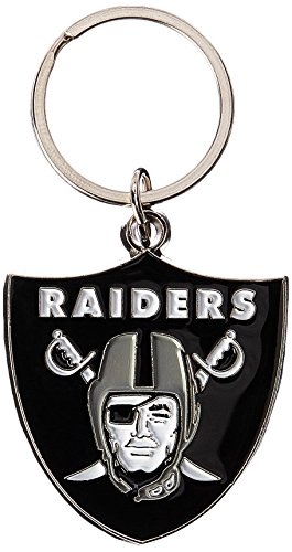 NFL Oakland Raiders Chrome Key Chain