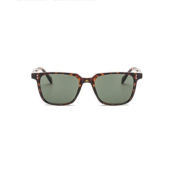 Mymyguoe Gafas de Sol Vintage para Hombre Retro Gafas de ...