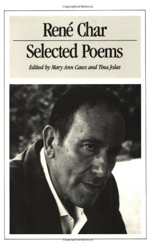 Selected Poems of René Char by New Directions