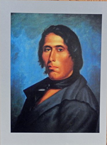 Tecumseh great Shawnee chief, rare print art, gently removed from the Mighty Chieftains Indian Art Book