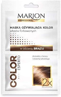Máscara de pelo de bronce Marion para refrescar y cuidar ...