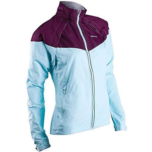 Sugoi Women's Versa Jacket,  Ice Blue, Medium (Pant Convertible Versa)