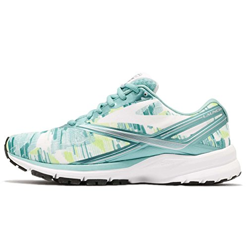 Brooks Blue Launch 4 Radiance Kasbah Shoes White Running Blue Women's 74q7TBP