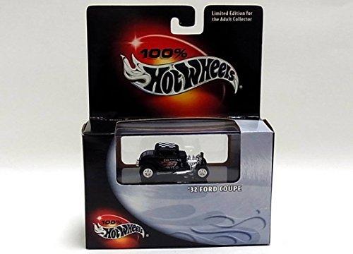 Hot Wheels 100% '32 Ford Coupe Deuces Wild BLACK BOX Black 1:64