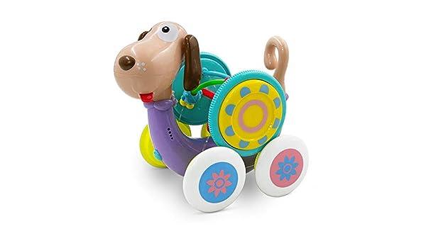 Glhkkp Andador Caminante del bebé Perro eléctrico de Juguete ...