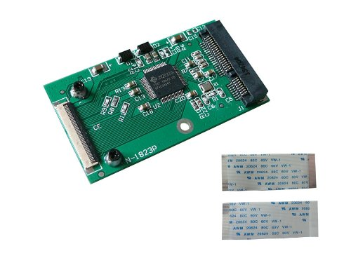 2 opinioni per 'KALEA-INFORMATIQUE–Adattatore mSATA a ZIF 40–Per SSD mini PCIe di tipo
