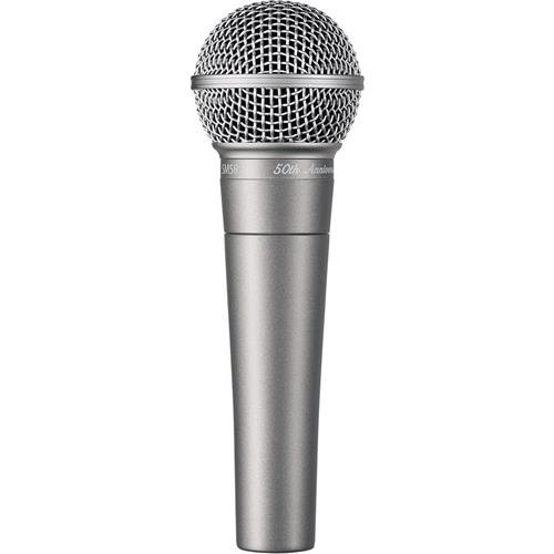 Shure SM58 - 50th Anniversary Limited Edition by Shure