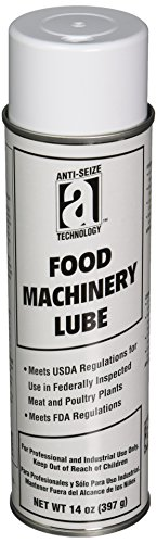 ANTI-SEIZE TECHNOLOGY 17060 Food Machinery Lubricant, 15 oz Aerosol Can