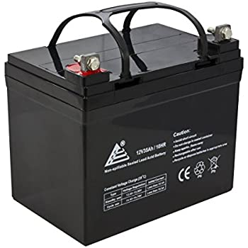ExpertPower BLPFM12_35 Sealed Lead Acid Battery Deepcycle Solar Energy Storage (12 V 35 AH EXP 12350),1 Pack