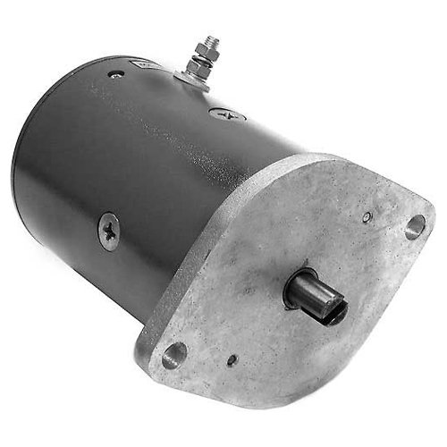 S.A.M. Replacement Snowplow Motor - Western 4.5in. Old Style (Plow Snow Replacement Motor)