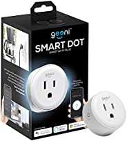 Geeni GN-WW117-199 DOT Smart Outlet Plug, White – No Hub Works with Amazon Alexa Google Assistant Requires 2.4