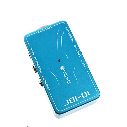 Joyo JDI-01 DI box with Amp Simulation for Acoustic/Electric Guitar or Line Level Signal by Joyo