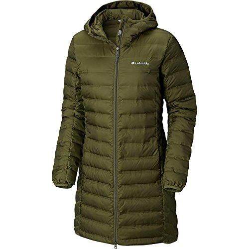 Columbia Women's Lake 22 Long Hooded Jacket Nori