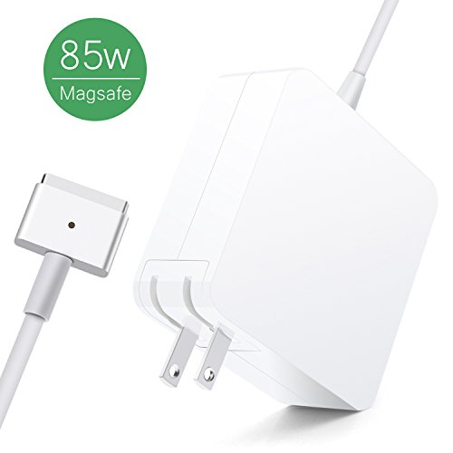 MacBook Pro Charger, Kakivan 85W Magsafe 2 Mac Charger with T-Tip, MacBook Charger 85w Magsafe Power Supply for MacBook Pro 15 Inch (Mid 2012 Later Model) by Kakivan