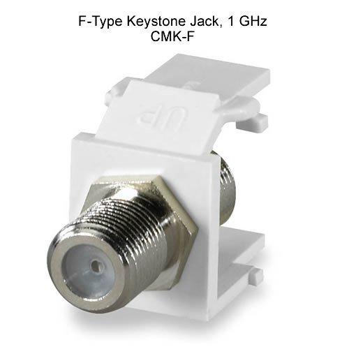 (Signamax F-Type Keystone Jack, 1 Ghz)