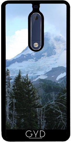 Funda de silicona para Nokia 5 - Montañas Oregon by loki1982