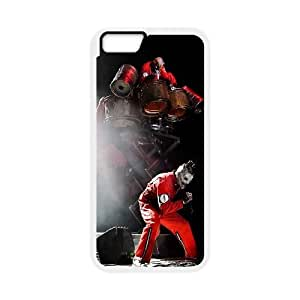 Slipknot iPhone 6 Plus 5.5 Inch Cell Phone Case White xlb-199481