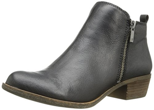 Womens Black Booties (Lucky Brand Women's Basel, Black 03, 10 M)