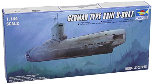 Production Type Model Kit - Trumpeter 1/144 German Type XXIII Late Production U-Boat Model Kit