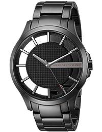 Armani Exchange Men's AX2189 Smart Watch Analog Display Analog Quartz Black Watch