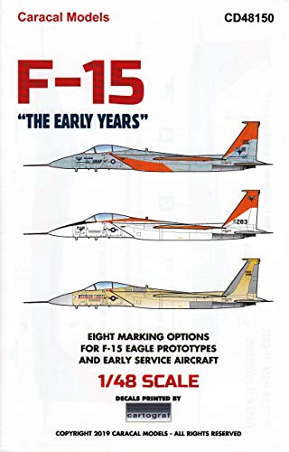 Caracal Models CARCD48150 1:48 Decals - F-15 Eagle for sale  Delivered anywhere in USA