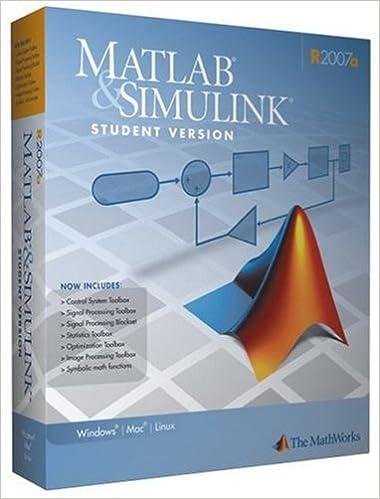 Amazon com: MATLAB STUD VERS W/SIMULINK 20 (9780979223907