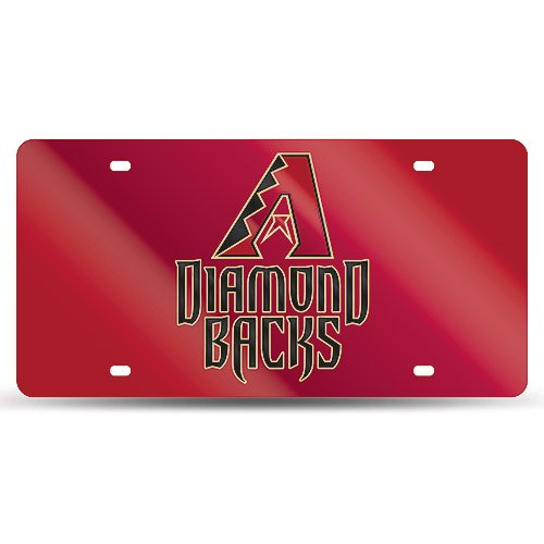 MLB Arizona Diamondbacks Laser-Cut Auto (Arizona State Diamond Plate)