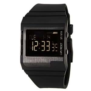 Diesel DZ7150- Cr - Reloj de caballero de cuarzo, correa de plástico color negro