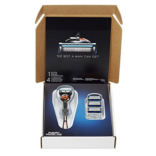 Gillette Fusion Proglide Manual Men's Razor With Flexball Handle Technology