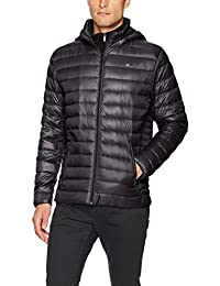 Calvin Klein Mens Packable Down Hoody Jacket