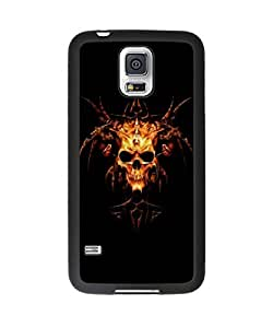Cool Heavy Metal Samsung Galaxy S5 Plastic and TPU Durable Phone Case Cover(Laser Technology)