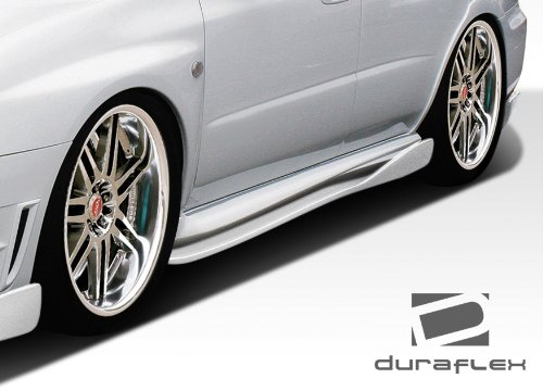 2004-2007 Subaru Impreza WRX STI Duraflex C-Speed 2 Side Skirts Rocker Panel Add ons - 2 Piece (Skirt Fiberglass Side)
