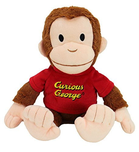 Animal AdventurePiggy ThriftersCurious GeorgeSoft Collectible Plush George - Flower George Curious