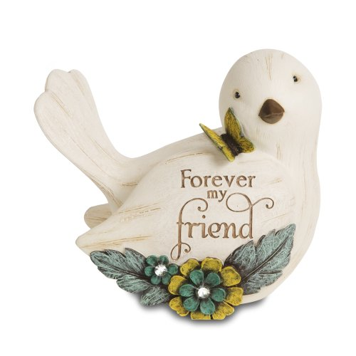(Pavilion Gift Company 41044 Simple Spirits Forever My Friend Bird Figurine, 3-1/2-Inch)