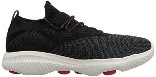 Skechers Heren Gaan Lopen Revolutie Ultra Sneaker Zwart / Rood