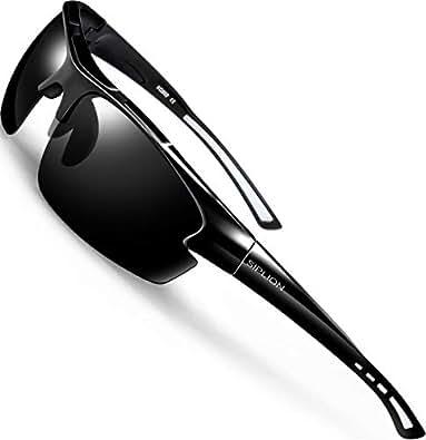 Amazon.com: SIPLION gafas de sol polarizadas para deportes ...