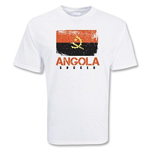 Angola Soccer T-shirt B0785D55LWSmall (34-36\