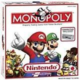 """Nintendo Super Mario Brothers Exclusive Collectors Monopoly Set """"Gamestop"""" Exclusive Square Box"""