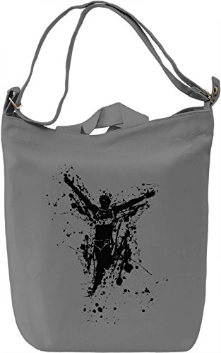 Run Borsa Giornaliera Canvas Canvas Day Bag| 100% Premium Cotton Canvas| DTG Printing|