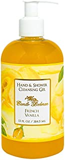 product image for Camille Beckman Hand and Shower Cleansing Gel, French Vanilla, 13 Ounce
