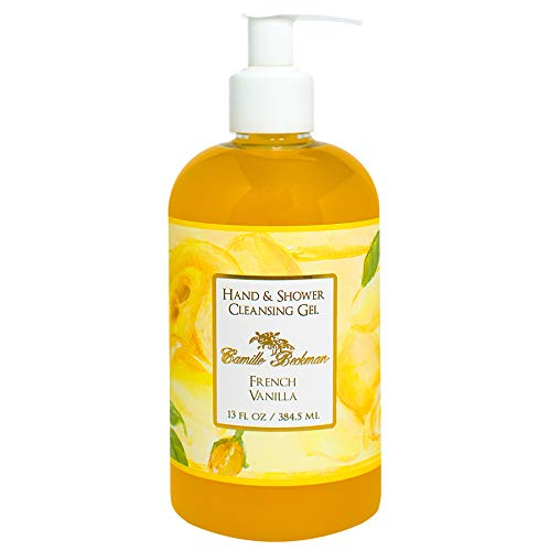 Camille Beckman Hand and Shower Cleansing Gel, French Vanill