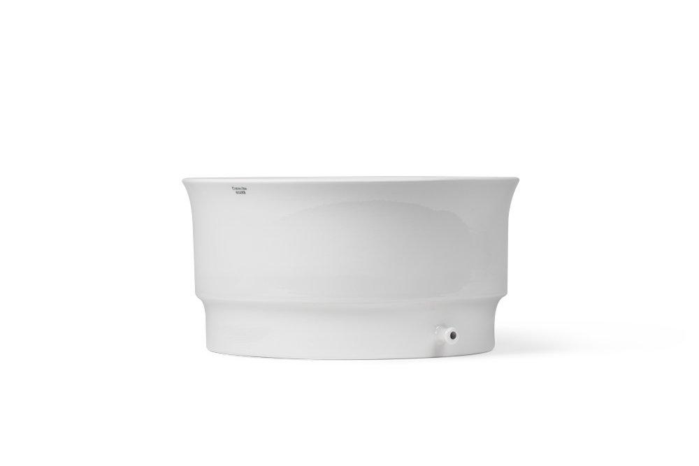 for 240mm Diameter Filter Paper 4000mL Capacity CoorsTek 60283 Porcelain Ceramic Table Type Buchner Funnel 145mm Height