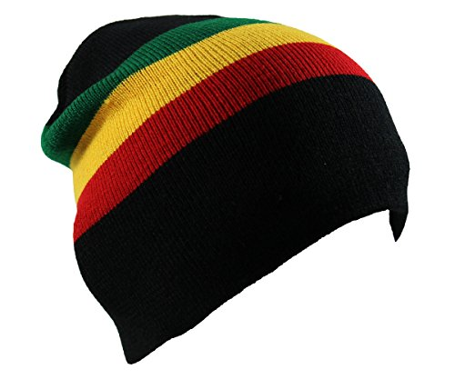(Rasta Beanie Hat)