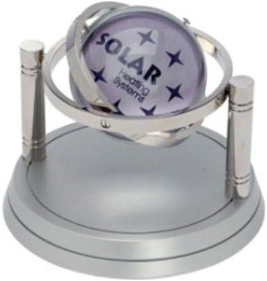 Gyro regalo reloj, spinning giroscopio Esfera, Bares y base ...