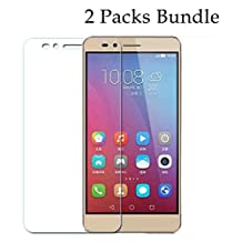 Huawei GR5 Glass Screen Cover 2 PCS Pack, Tektide Tempered Glass Screen Protector