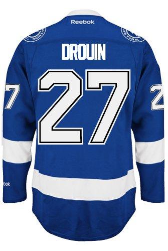 fb940cb35d3 Jonathan Drouin Tampa Bay Lightning NHL Home Reebok Premier Hockey Jersey